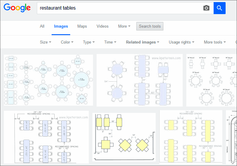finding black and white diagrams