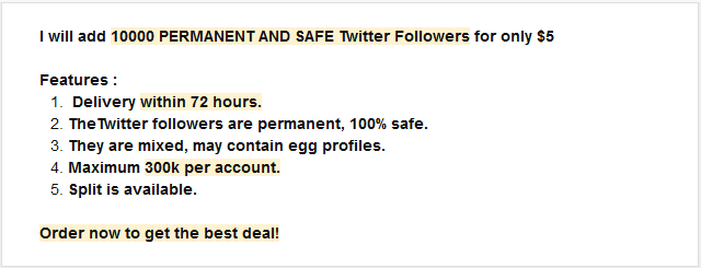 avoid buying fake followers